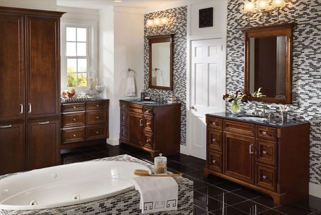 Kraftmaid Bathroom Cabinets Traditional Bathroom Decor