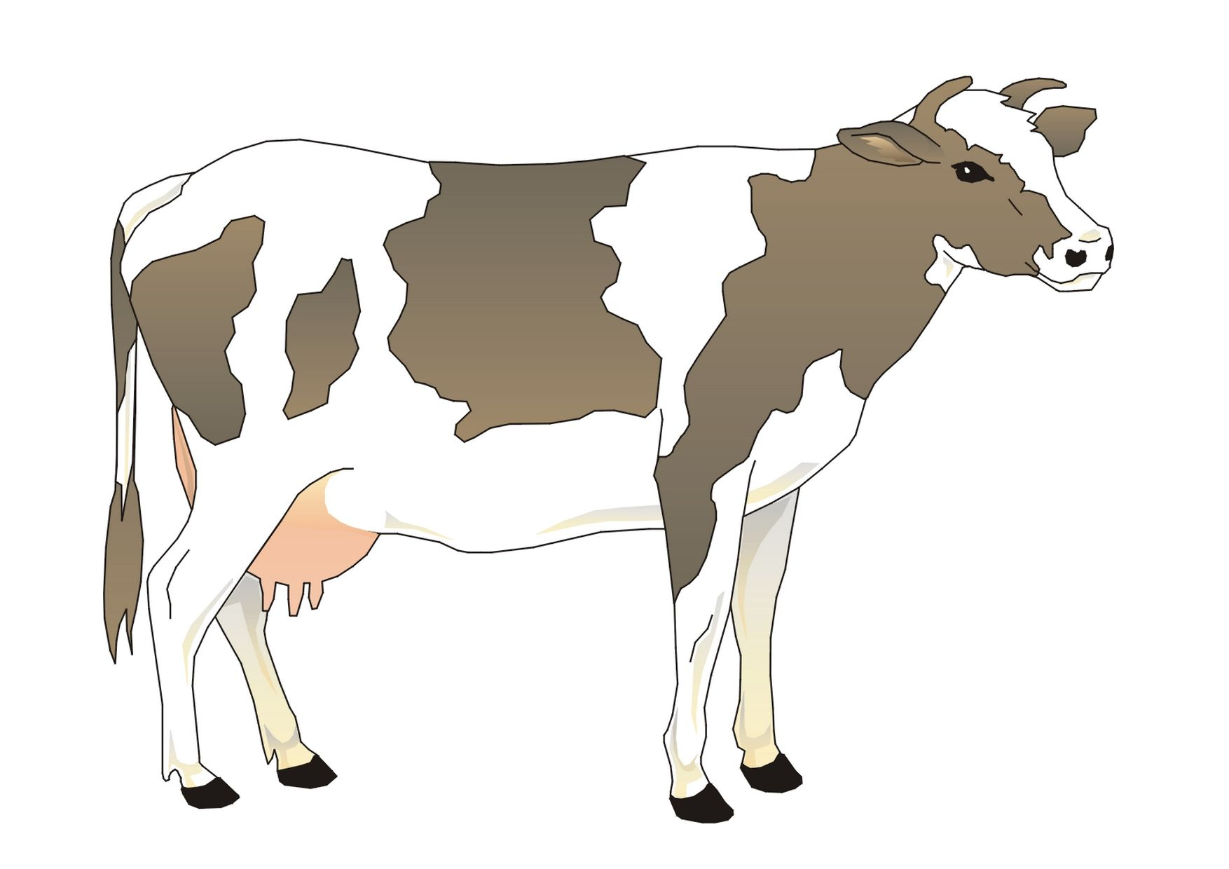 clipart | Thema koe kleuters / Cow theme preschool / Vaches thème ...