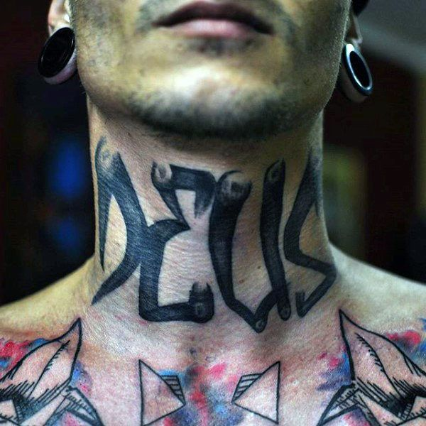 c621758a3 80 Graffiti Tattoos For Men - Inked Street Art Designs | Tattoos ...