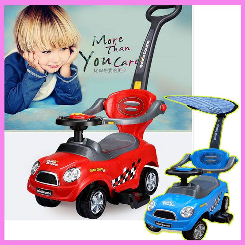 Baby Walker Assistant with Music Four Wheel Toys Car