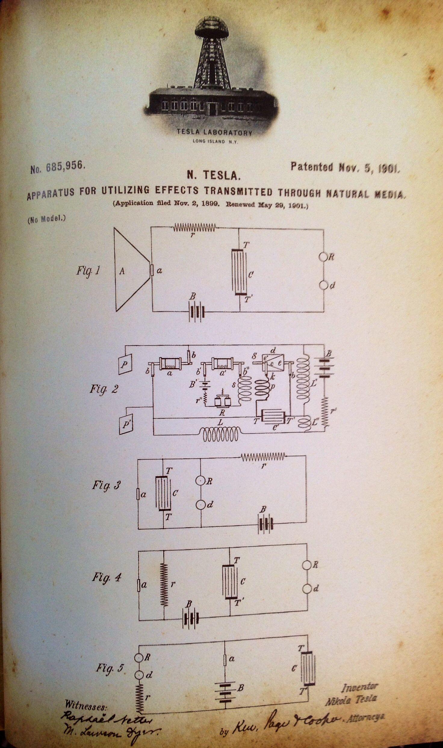Nikola Tesla Tesla Nikola Tesla Tesla Inventions Nikola Tesla Patents