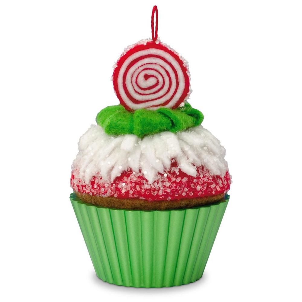 2016 Christmas Cupcake Hallmark Keepsake Ornament Hooked