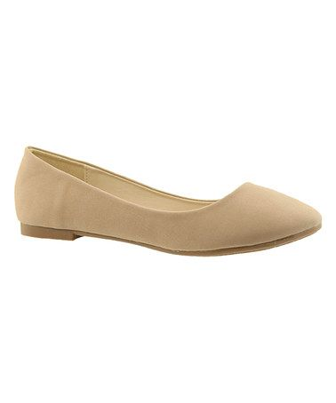 Love this Taupe Dana Flat on #zulily! #zulilyfinds