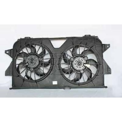 New Dual Radiator and Condenser Cooling Fan Assembly fits Chrysler Dodge Jeep