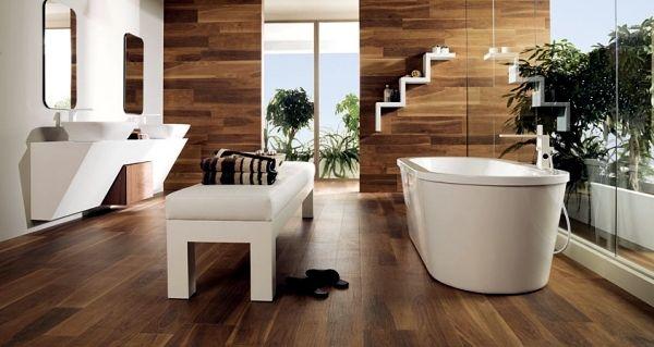 Ceramic Tiles In Wood Design From Porcelanosa For Each Area Zen Bathroom Bathroom Design