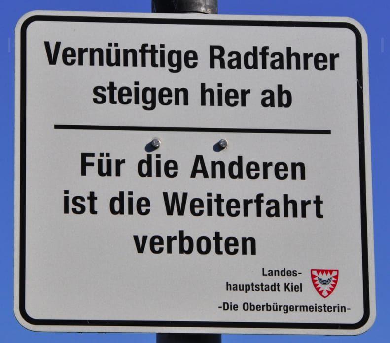 Die 100 Lustigsten Schilder Deutschlands Weil Man Gonnt Sich Ja