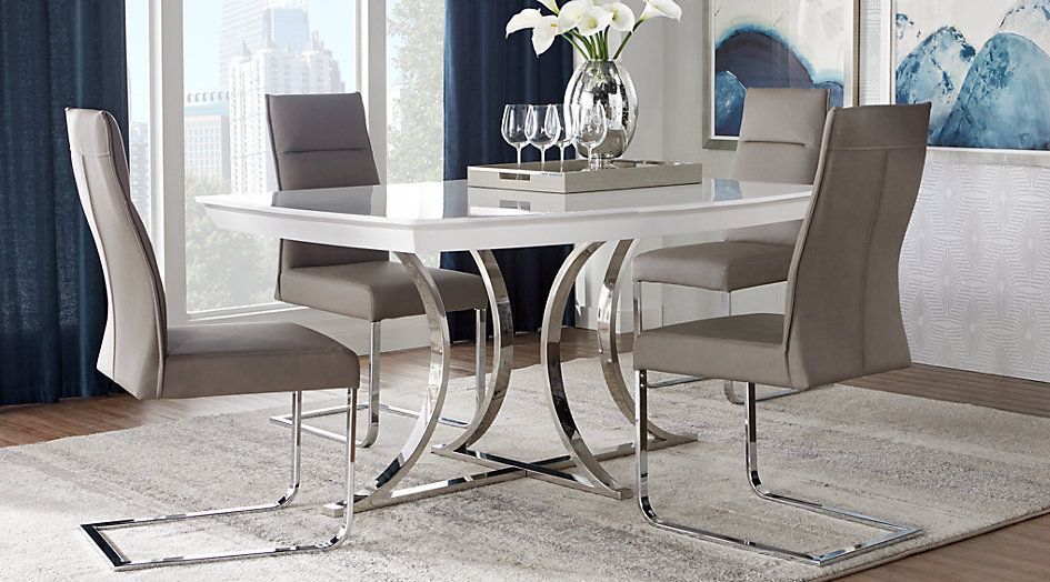 Picture Of Washington Square 5 Pc Dining Room From Furniture Dining Room Design Dining Room Sets Affordable Dining Room Sets