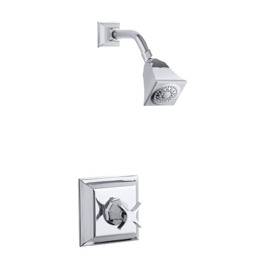 Kohler Memoirs 1-Handle Shower Faucet Trim Kit in Oil-Rubbed Bronze ...