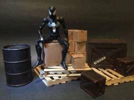 Warehouse diorama accessories (Marvel Legends) Custom