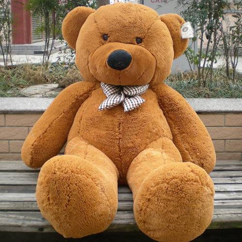 46fe0ca03fd07 Dark Brown · Big Plush · Brown Bear · This is what i want for Valentine s  day 💜 Purple Teddy Bear