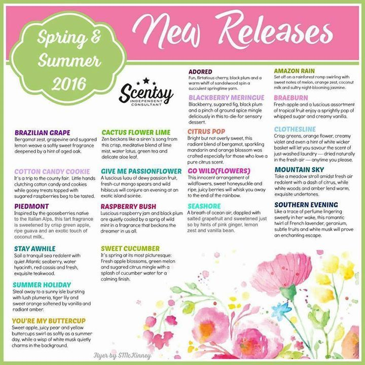 A quick glance at our #summer #scents! - http://ift.tt/1HQJd81