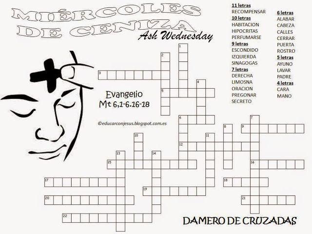 Parroquia La Inmaculada: Cruzada Miércoles de Ceniza   RELIGION ...