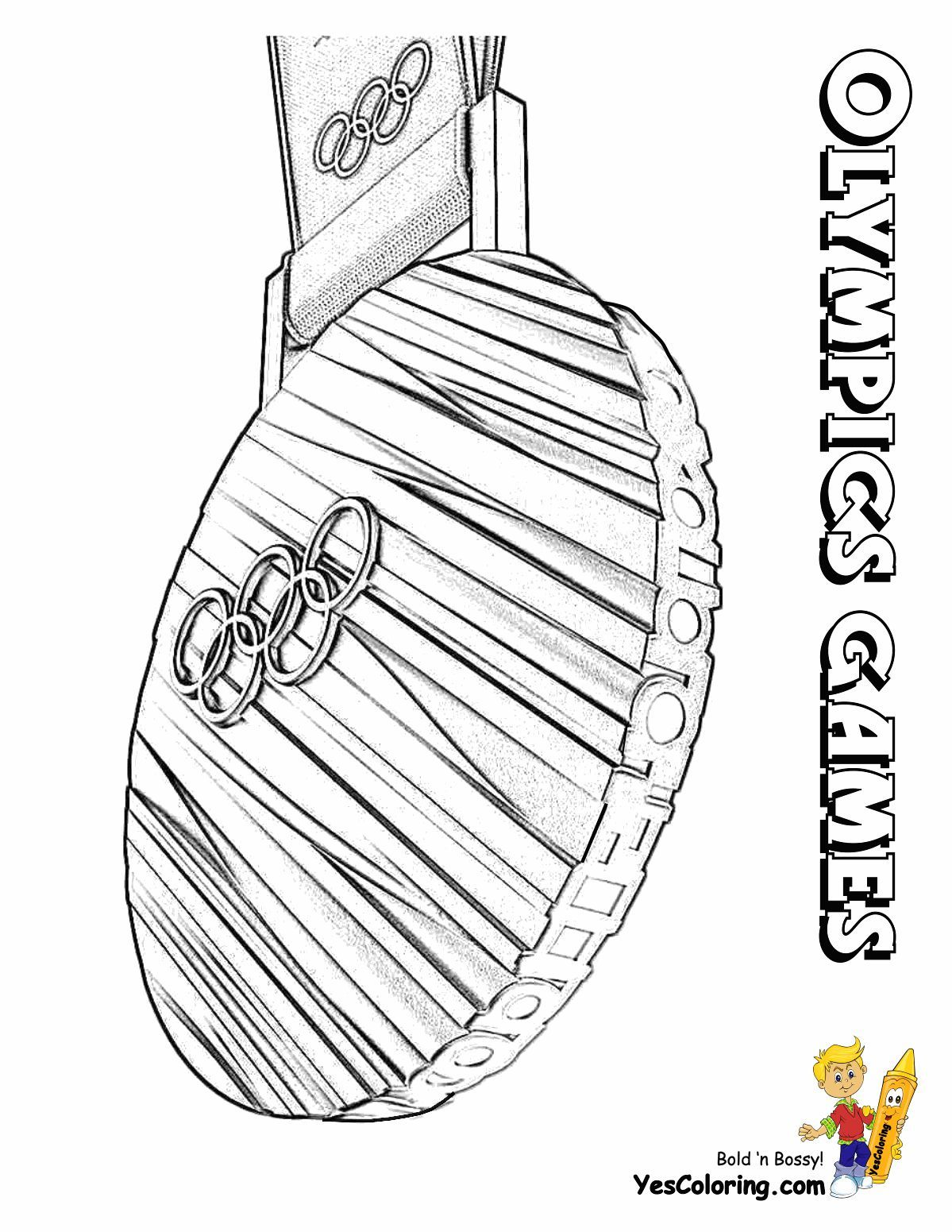 print out this olympic gold medal coloring page   u0026quot you kiddin   u0026quot  tell other coloring kids your
