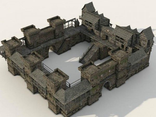Medieval Castle | castles in 2019 | Minecraft architecture