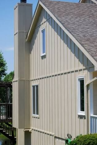 Image result for plywood board and batten cladding for Vertical siding options
