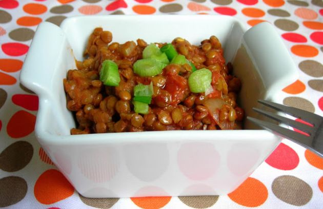 Bright, Tasty and Colorful Lentils: Lenticchie in Umido – Lentils cooked in Tomato sauce! | hip pressure cooking