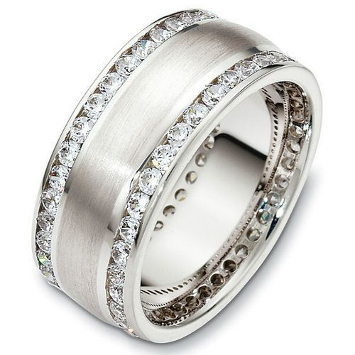 thick-diamond-wedding-bands-for-women.jpg (500×500) | dream a lil ...