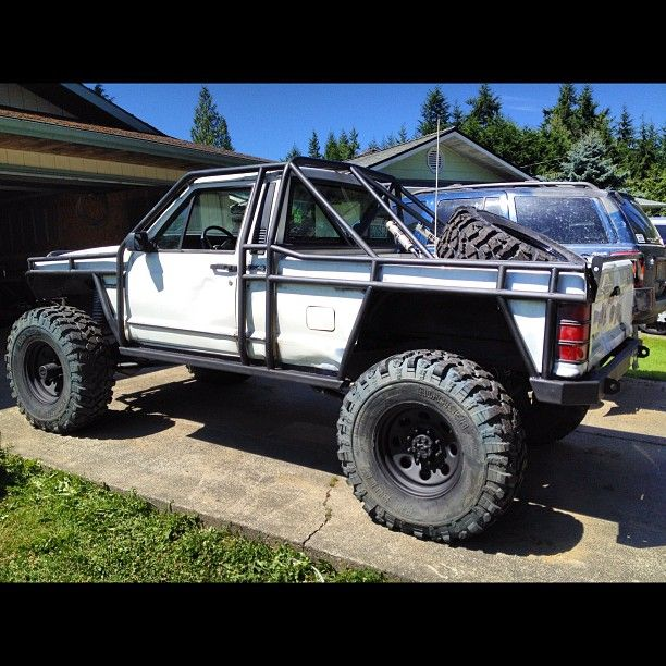 Jeep Lancaster: Inspiration For My New Jeep Comanche 4x4! Won't Stop Till
