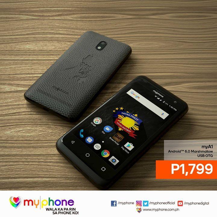 Sa Presyong P1799 May Brand New Android Phone Ka Na Get Your MyPhone