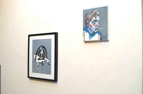 Marcelina Amelia - London based and polish born artist. Exhibition at Marburae Art Gallery, Cheshire  www.artinmacclesfield.co.uk