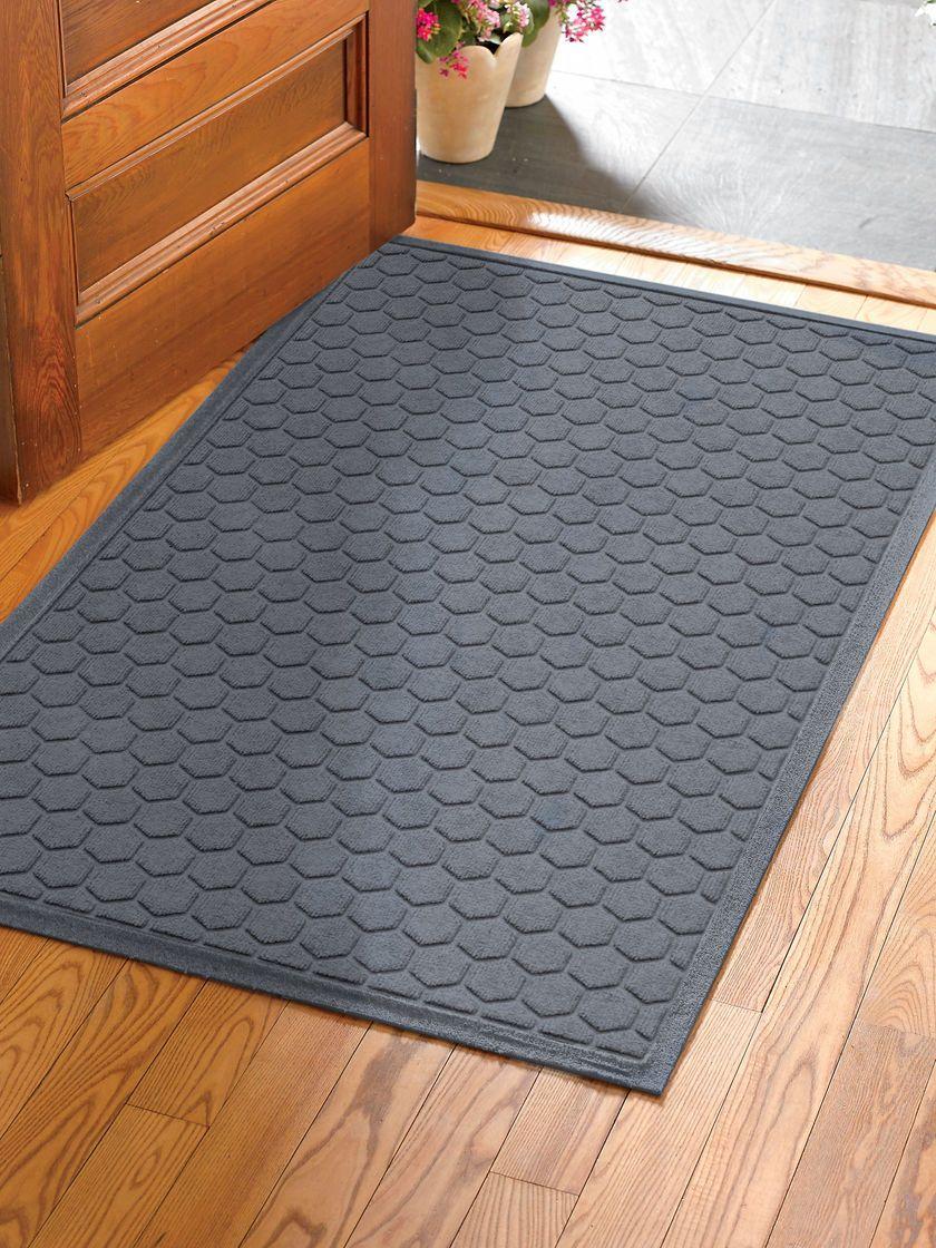 Honeycomb Water Glutton Oversized Double Door Welcome Mat 35 X 59 Double Doors Front Door Mats Honeycomb