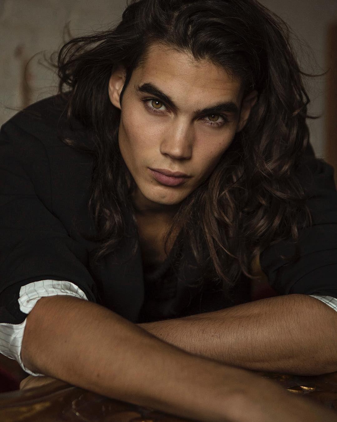 Leonardo Corredor Photography Brown Hair Men Long Hair Styles Men Dark Haired Men