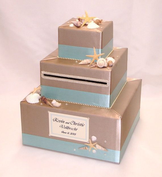 1000 images about estee – Beach Wedding Card Boxes