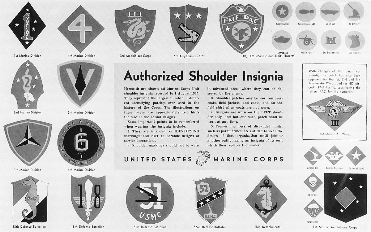 marine corps military patches   Two African-American Defense ...