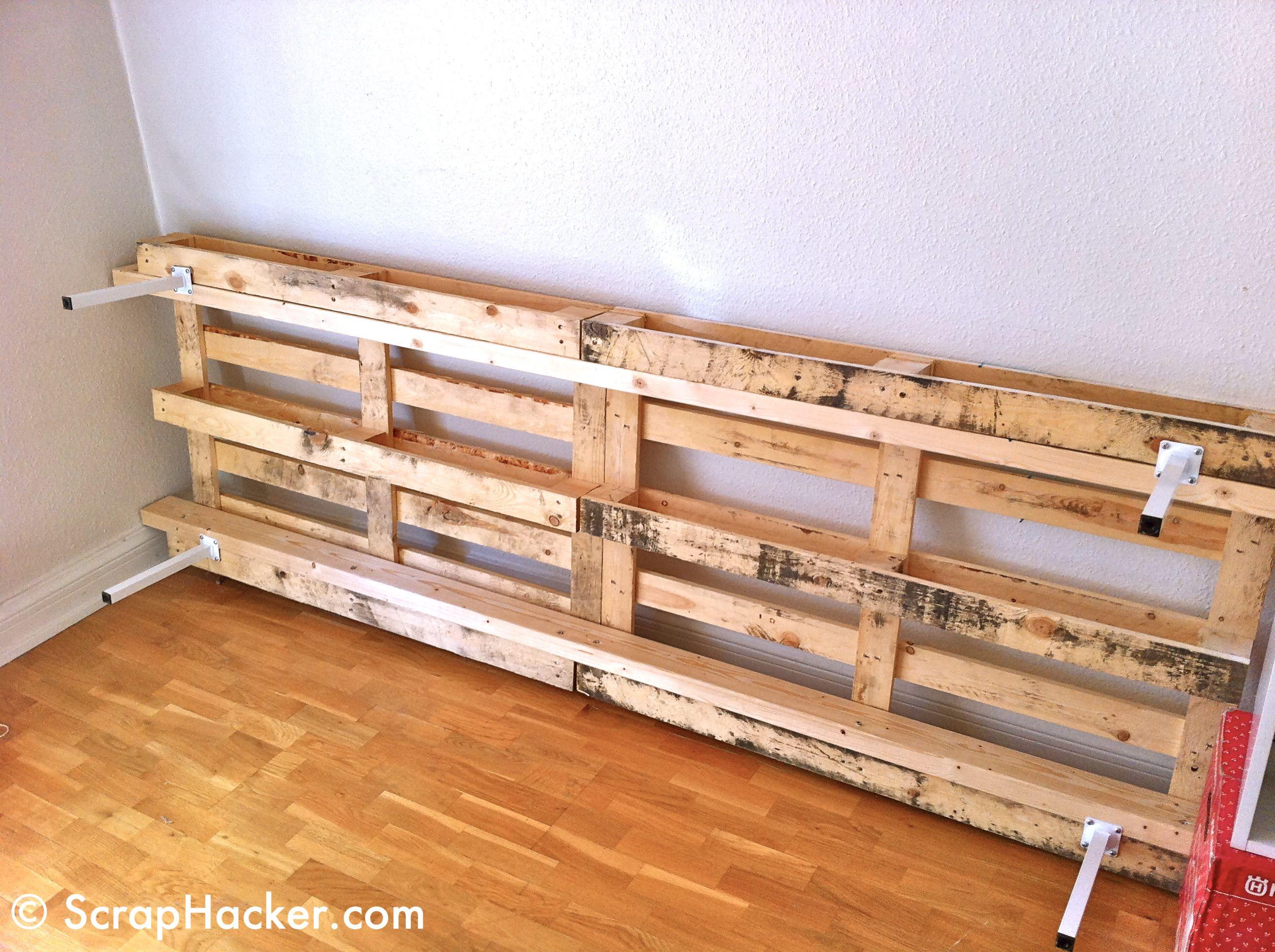 Diy Platform Couch Google Search Decorating Ideas Pinterest - Como-hacer-un-sofa-con-palets-de-madera