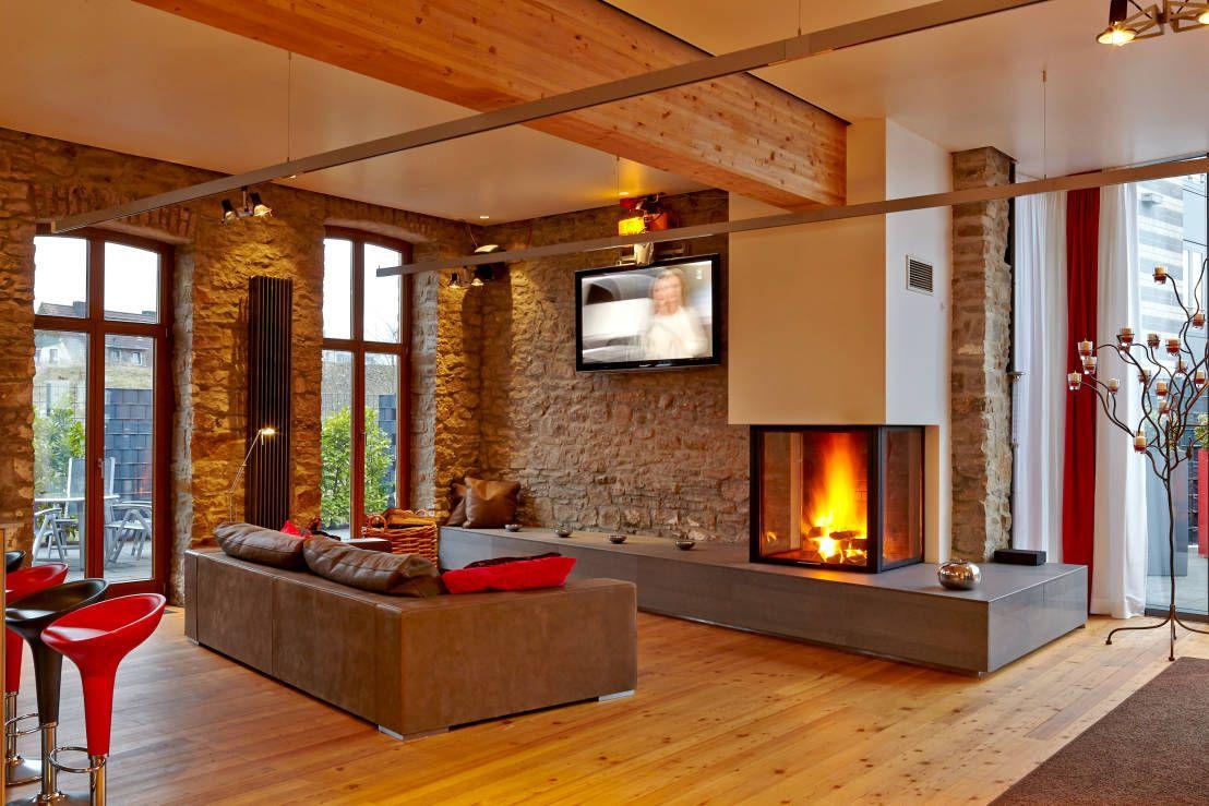 Wohnzimmer Gemütlich Kamin sdatec.com