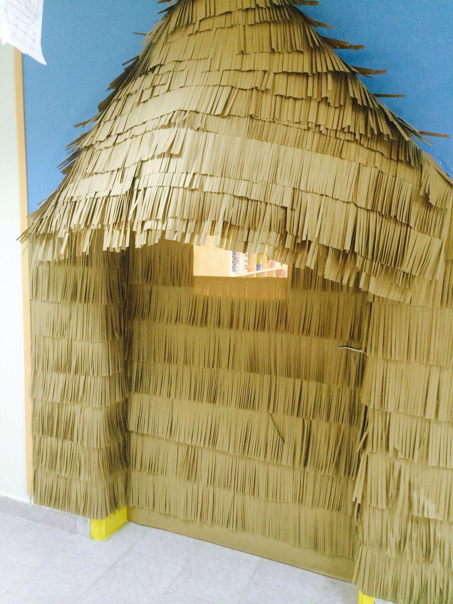 A Tiki Hut For My Classroom Door Bulletin Board And