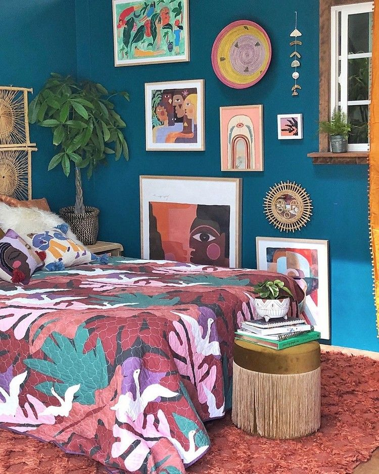 Awesome Bohemian Bedroom Designs and Decor #bohemianbedrooms