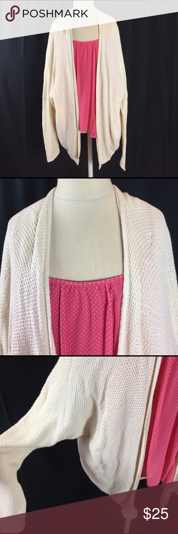 Brandy Melville Cardigan 100% Cotton. Made in Italy. Brandy Melville Sweaters Cardigans
