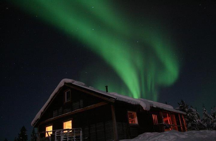 Northern Lights, Kiruna, Sweden