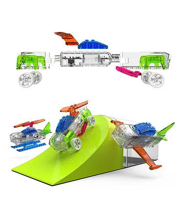 Look what I found on #zulily! ZippyDo's Light-Up Vehicle Building Set #zulilyfinds