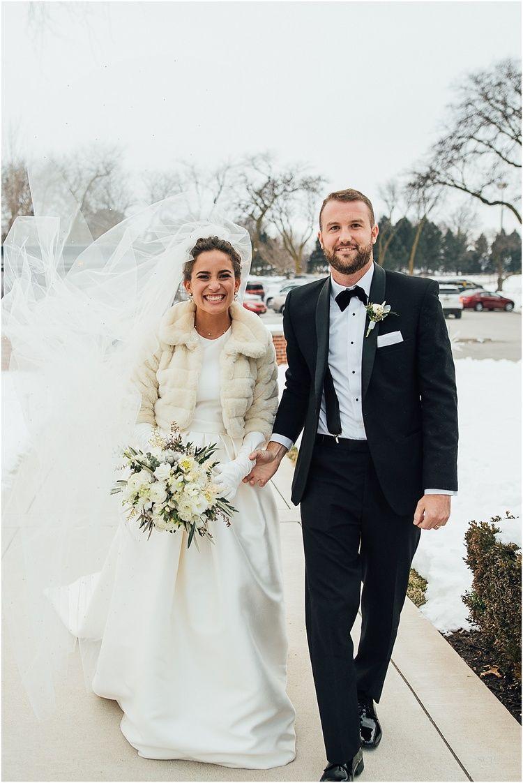 Omaha country club winter wedding wedding bride wedding