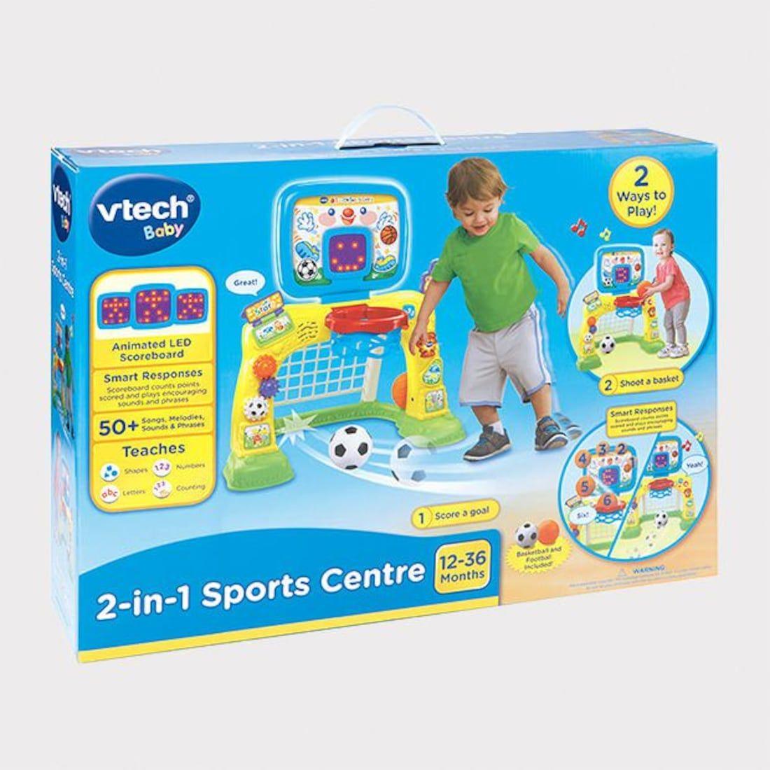 Vtech Baby 2In1 Sports Centre Vtech baby, Sports, Baby