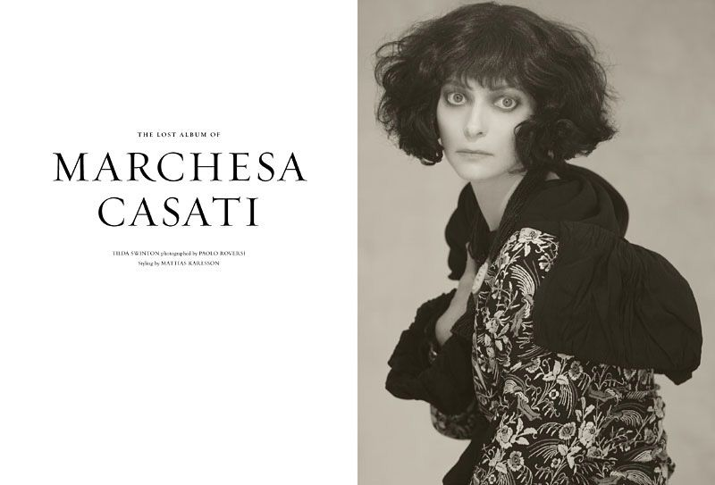 Tilda Swinton as Marchesa Casati
