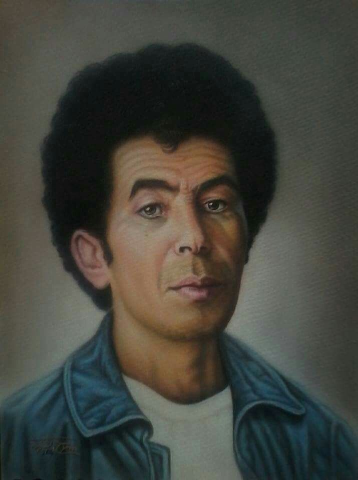 الصادق النيهوم Famous Libyan Art