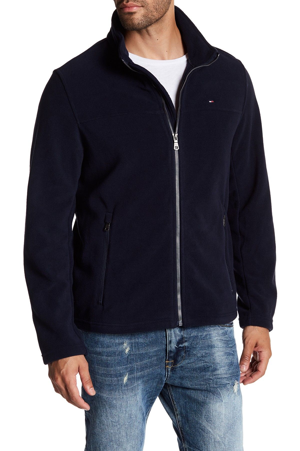 Zip front polar fleece jacket products pinterest polar fleece