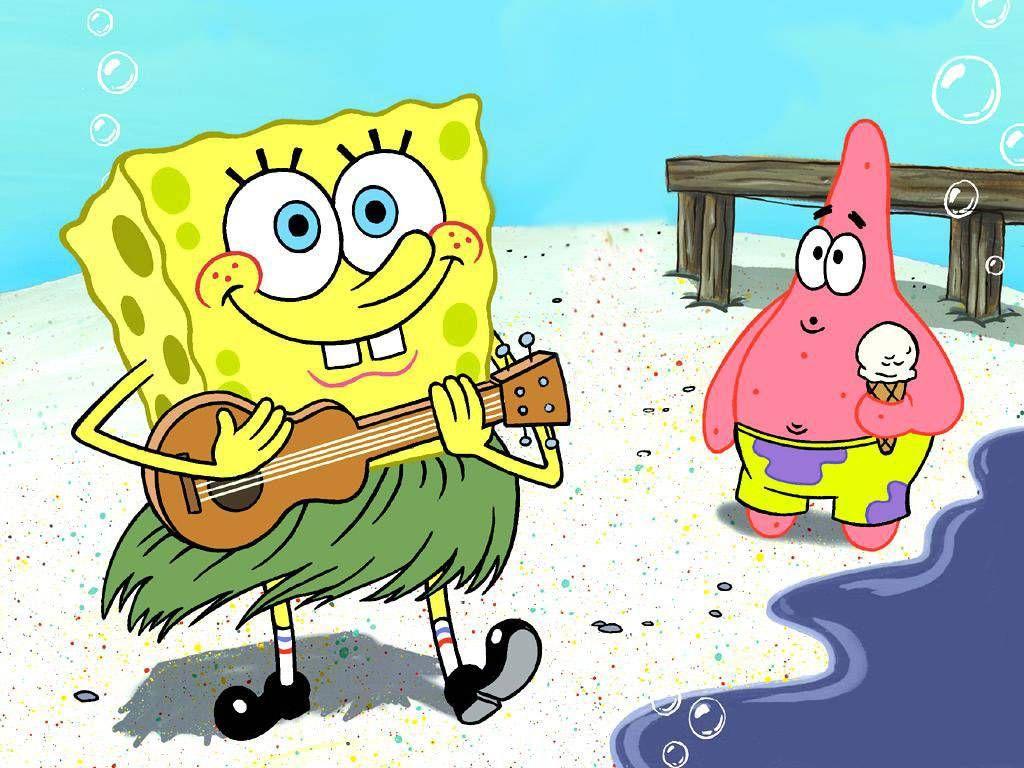 Spongebob Hawaiian Dancer Spongebob Pinterest Spongebob