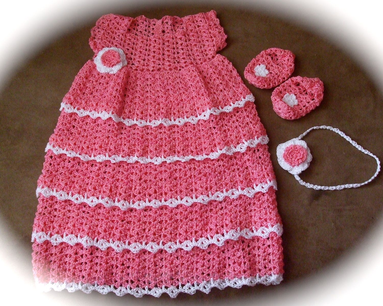 Antique Doily Dress Newborn Thread Crochet Pattern I should call ...