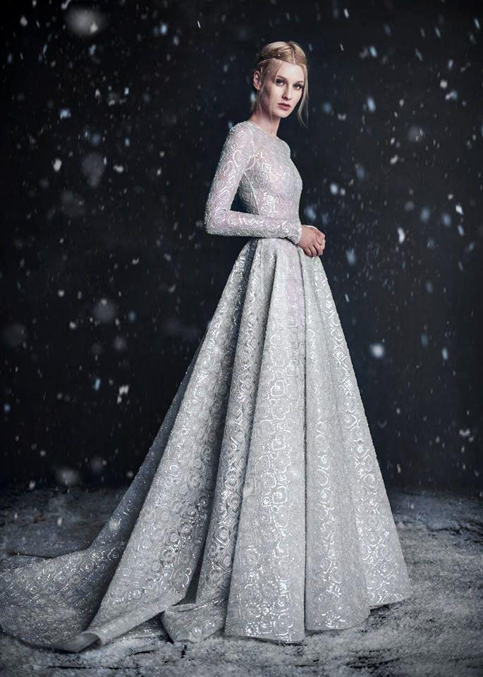 Paolo Sebastian Fall/Winter 2016, Haute Couture: The Snow Maiden ...