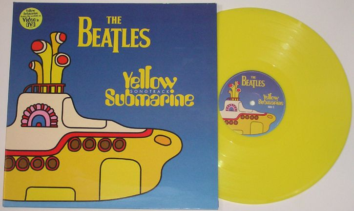 The Beatles Yellow Submarine 1999 Uk Yellow Vinyl Lp 61454 179 99 Vinyl Frontier Music Rare Records Cds Beatles Yellow The Beatles Beatles Records