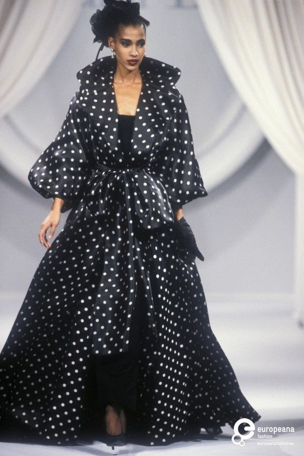 Polka dot fashion history 99