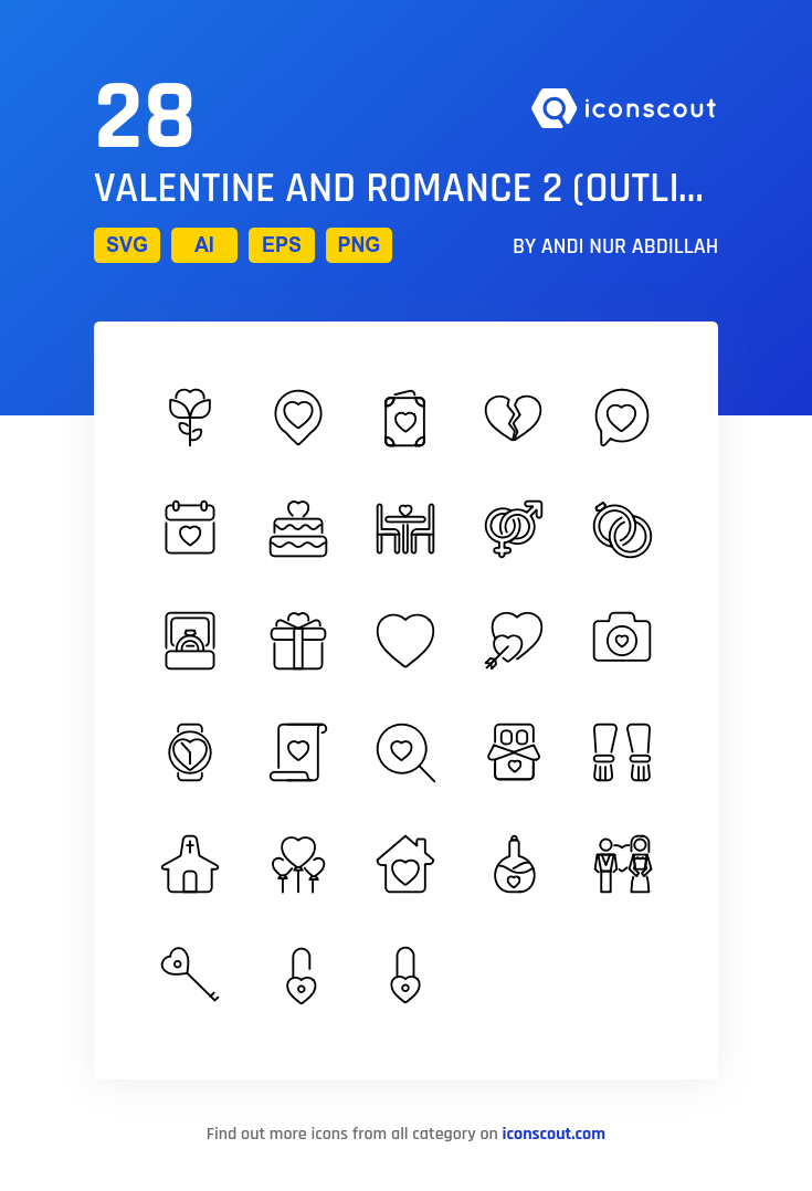 Download Valentine And Romance 2 Outline Icon Pack Available In Svg Png Eps Ai Icon Fonts Icon Pack Icon Outline