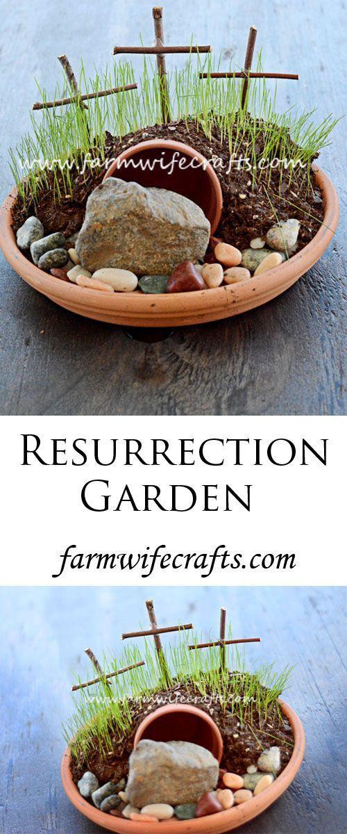 Resurrection Garden The Farmwife Crafts Rezept Osterideen Fur Kinder Ostergeschichte Basteln In Der Sonntagsschule