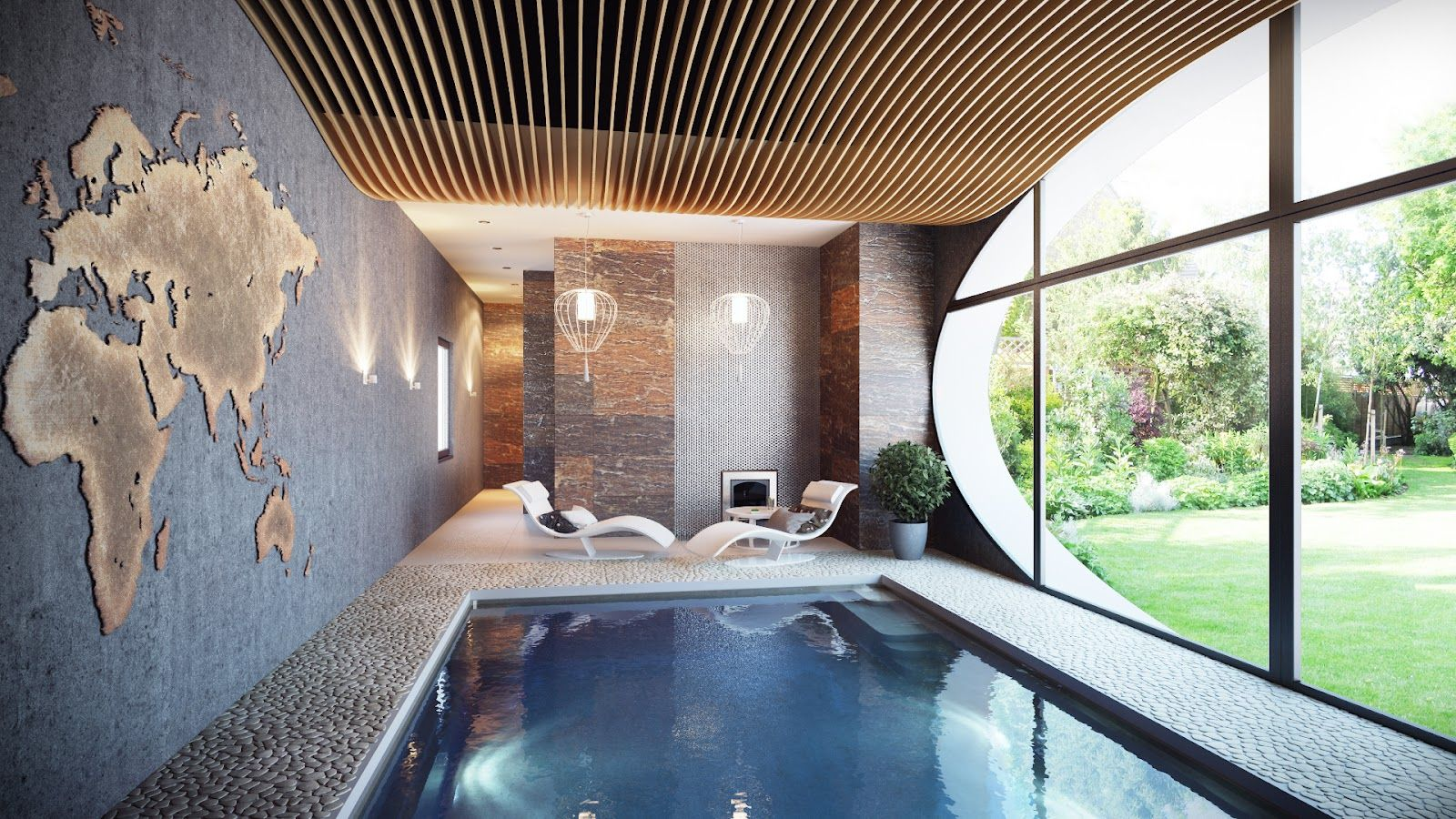 Indoor Swimming Pools Designs