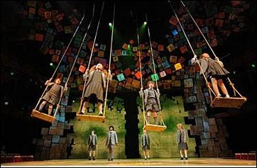 Matilda, the musical - set design!