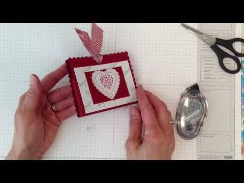 Very Valentine Treat Holder